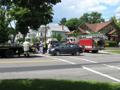 Another collision at Grand & Crestmont