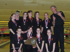 U-E Girls Bowling State Champs