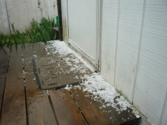AWESOME HAIL STORM IN ONEONTA NY