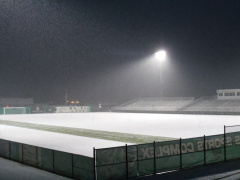 Men's Soccer Game Snowed Out