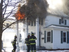 House Fire in Village of Owego