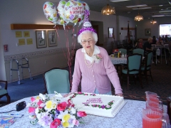 Lillian Cohen Turns 100 yrs Old
