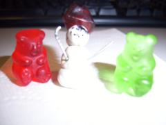 Gummy Bears & Pirate Snowman