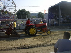 TOY's AntiqueTractor Pull BC Fair 2008