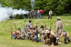 Civil War Re-Enactment in Walton