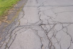 Norwich Street Crumbles With No Repairs