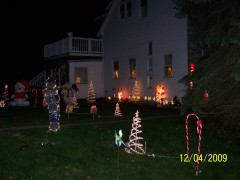 holiday lights2009