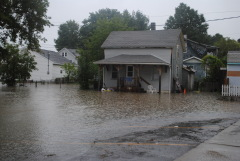 Endicott Flooding Photos