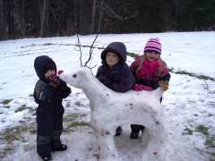 Rudolph the Snow Deer