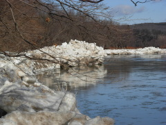 Conklin's Icy River's Edge