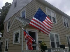 Old Glory On Flag Day