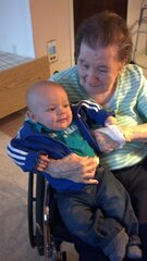 Nana and Ayden first time meeting