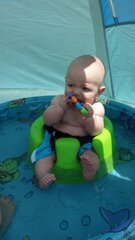 ayden chillin out on this beautiful day