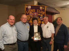 Apalachin Lions Women of the year Award