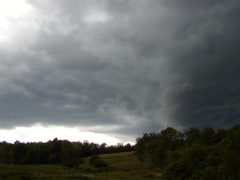 Storm Heads Into Oxford