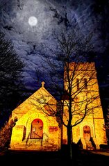 Moonlight and Church!