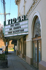 Owego's tioga Theater ...