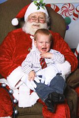 Scared of Santa