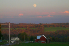 Harvest Moon on Ott Road