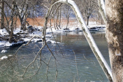 Winter on the Chenango River