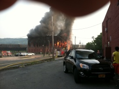 Binghamton Fire Water Street June 9th