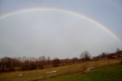 Rainbow near Connonsville Reservoir!