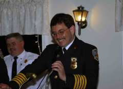 Oxford Fire Dept. Honors Memebrs