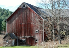 Searles Road Barn in Bainbridge