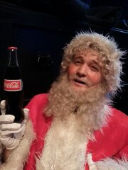 David Purdy as Santa.