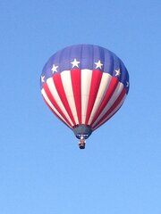 Balloon takes off from Vestal
