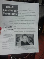 Benefit for Shawn Boyle