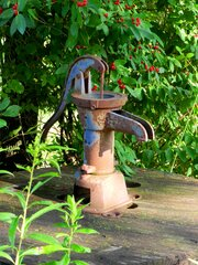 Old Pump on a Hot Day