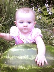 scottlynns first watermelon