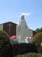Miraculous Picture of the Statue of Mary