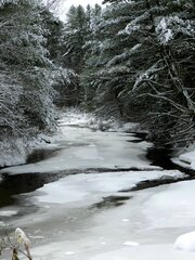 Indian Creek Winter