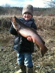 Cooper's Big Catch