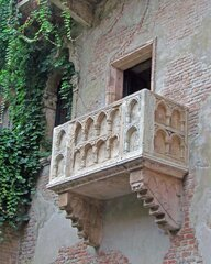 Romantic Juliet's Balcony