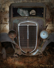 Old Fuel Truck