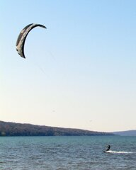 Parasailing on Cayuga Lake