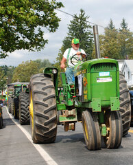 The Sidney Center Tractor Parade