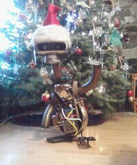 Santa Bot is coming to town.
