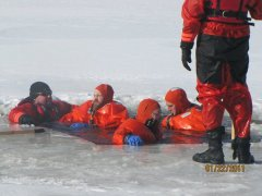 Nichols Fire Dept. Ice & Water Rescue