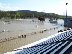 Ty Cobb athletic fields flooded again