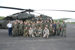 10th Mountain Div helo visits CAP unit