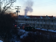Quality Inn fire Vestal
