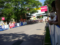 Start of the USA Cycling pro 1,2