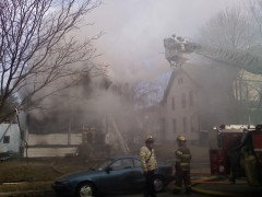 House Fire on Binghamton's Southside