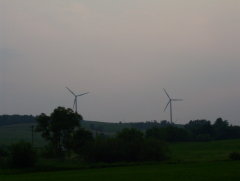 wind mills at the finger lakes