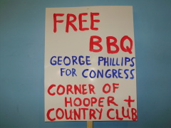 Come Meet George Phillips for Congress