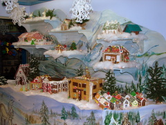 Discovery Center Gingerbread Village!